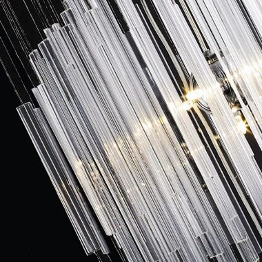 Żyrandol szklany 300cm B017