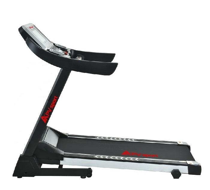 APVsport Bieżnia elektryczna do biegania i chodzenia APV600 S, ekran LCD, pas biegowy 125x38cm