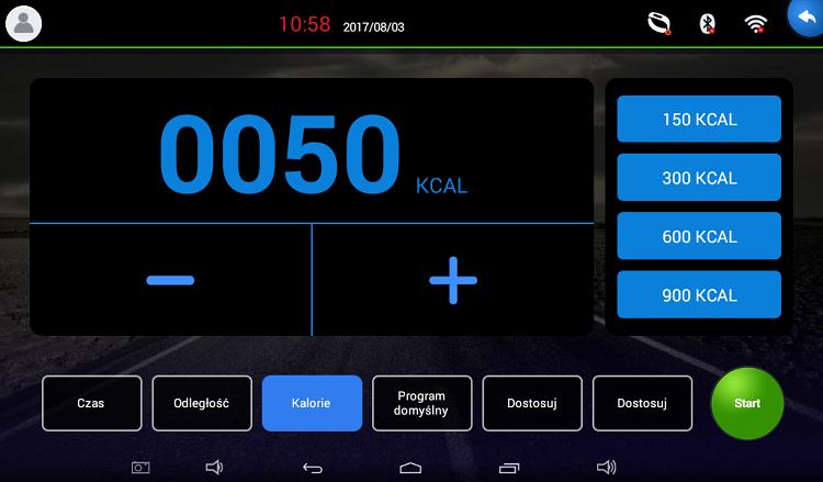 APVsport Bieżnia elektryczna do biegania i chodzenia APV6000, ekran TFT ANDROID 10.1 cala, dodatkowe wyposażenie GRATIS! - masażer, hantle, brzuszki, mata, pas biegowy 135x48cm