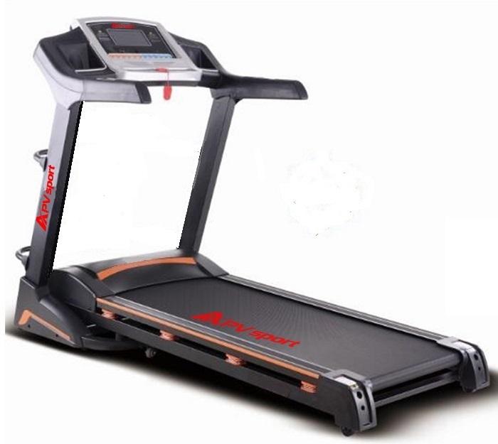 APVsport Bieżnia elektryczna do biegania i chodzenia APV900 S, ekran LCD, pas biegowy 130x38cm