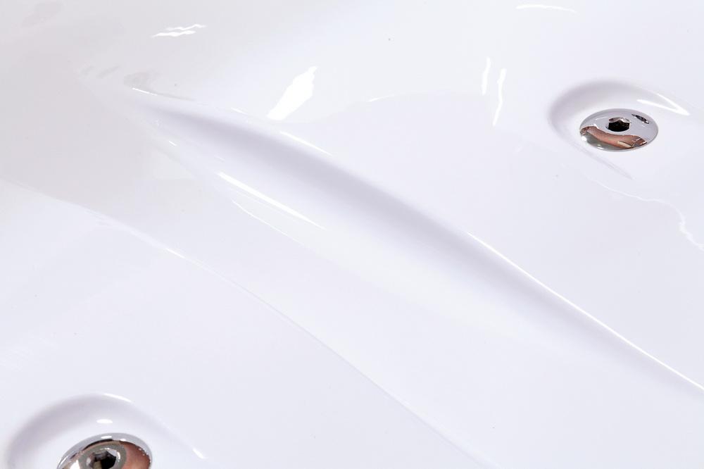 W37 Wanna z hydromasażem 180x120 WERSJA LEWA