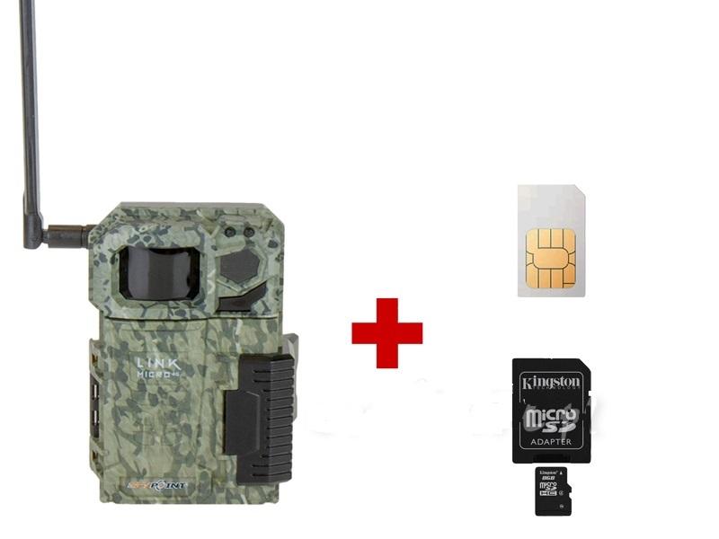 SP 0703 Fotopułapka 4G + 8GB karta SD i karta SIM GRATIS, POLSKIE MENU!