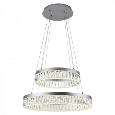 Żyrandol kryształowy RING 100Watt B014