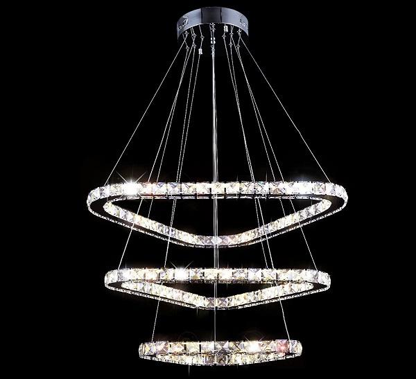 Żyrandol kryształowy 70cm B002