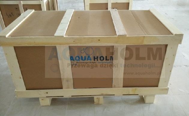 Aquaholm CLF-3132 150cm x 75cm x 59cm wersja PRAWA + RAMA NA SZYBIE