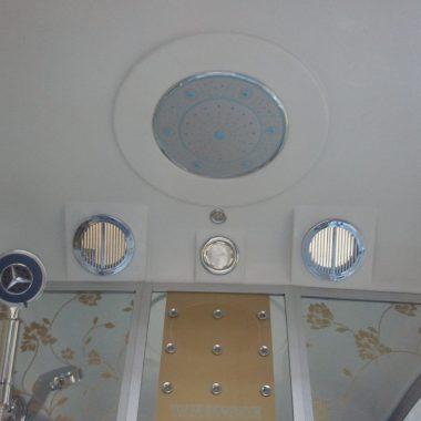 Treg K16 Kabina prysznicowa z hydromasażem 120cm x 85cm Z SAUNĄ NOWOŚĆ!