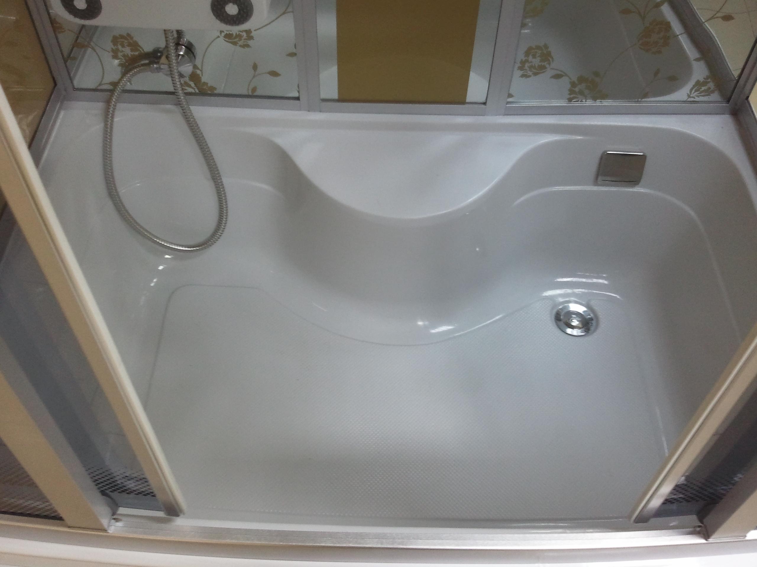 Treg K15 Kabina prysznicowa z hydromasażem 120cm x 85cm