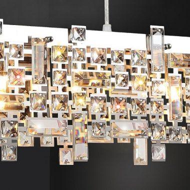 Żyrandol kryształowy 110cm B001