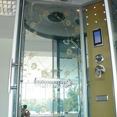 Treg K11 Kabina prysznicowa z hydromasażem 90cm x 90cm