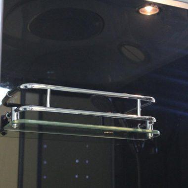 Treg K03 Kabina prysznicowa z hydromasażem 90cm x 90cm x 215cm 6 DYSZ SAUNA!