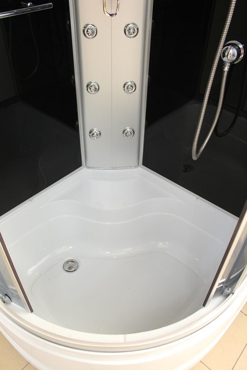 Treg K02 Kabina prysznicowa z hydromasażem 90cm x 90cm x 215cm 6 DYSZ